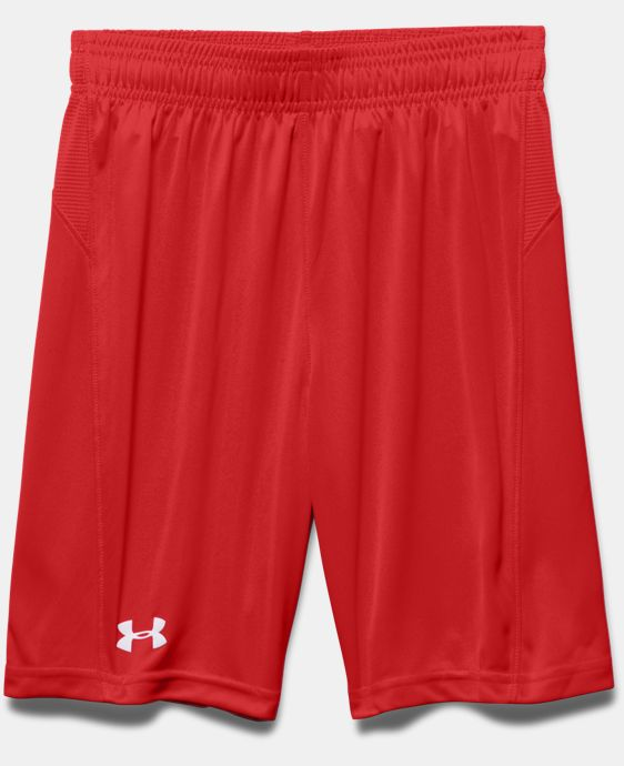 New Arrival  Boys' UA Challenger Knit Shorts LIMITED TIME: FREE SHIPPING  $22.99