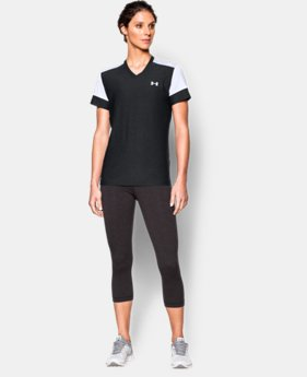 Women's UA Pitch V-Neck Train Top