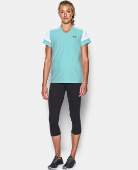 Women's UA Pitch V-Neck Train Top  1 Color $50