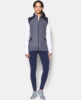 Women's UA Fleece Vest  1  Color Available $64.99