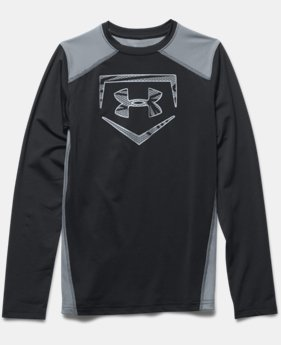 Boys' UA Undeniable Long Sleeve Fitted