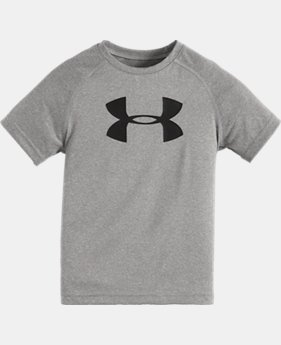 New Arrival Boys' Infant UA Big Logo Short Sleeve T-Shirt LIMITED TIME: FREE SHIPPING  $15.99