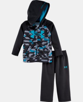 Boys' Newborn UA Armour® Fleece Blitz Hoodie Set