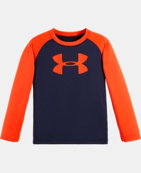 Boys' Infant UA Big Log Raglan Long Sleeve