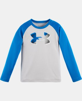Boys' Infant UA Drop Shadow Logo Raglan Long Sleeve