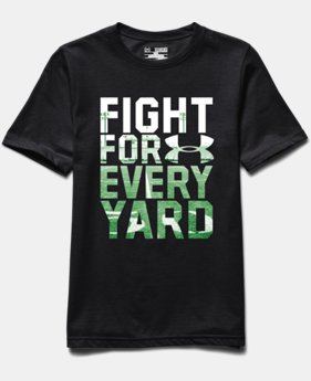 Boys' UA Fight For Every Yard T-Shirt