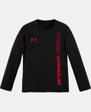Boys' Pre-School UA Lock Up Long Sleeve LIMITED TIME: FREE U.S. SHIPPING  $20.99