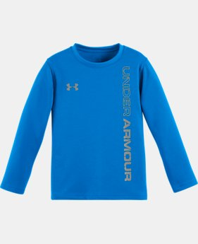 Boys' Pre-School UA Lock Up Long Sleeve