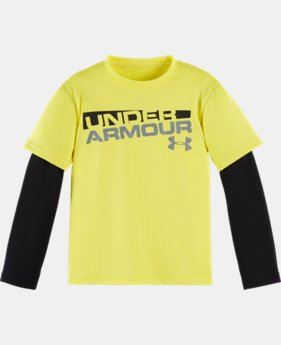 Boys' Toddler UA Wordmark Slider   $22.99