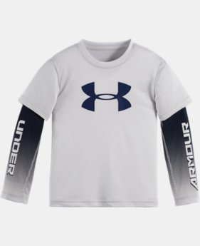 Boys' Pre-School UA Big Logo Slider