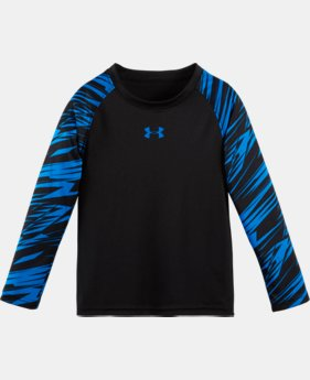 Boys' Pre-School UA Jagged Edge Raglan Long Sleeve