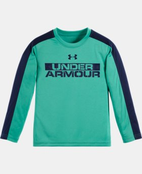 Boys' Toddler UA Stacked Long Sleeve