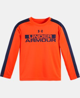 Boys' Pre-School UA Stacked Long Sleeve