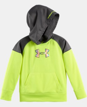 Boys' Toddler UA Colorblocked Hoodie