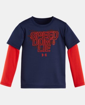 Boys' Pre-School UA Speed Don't Lie Slider