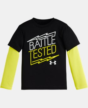 Boys' Pre-School UA Battle Tested Slider
