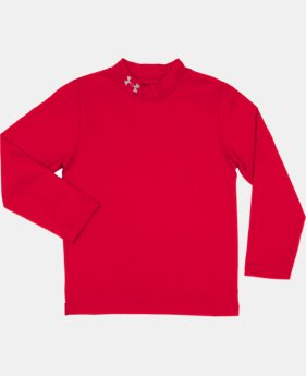 Boys' Toddler UA Fitted Mock Neck