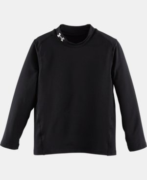 Boys' Pre-School UA Fitted Mock Neck  LIMITED TIME: FREE U.S. SHIPPING 1 Color $29.99