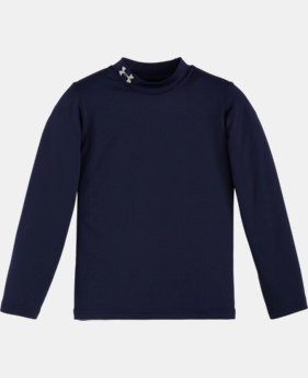 Boys' Pre-School UA Fitted Mock Neck