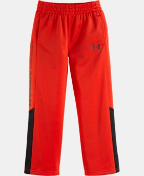 Boys' Toddler UA Pieced Tricot Pants
