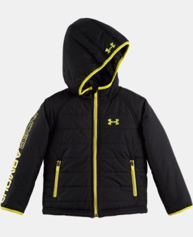 Boys' Toddler UA Hudson Quilted Jacket