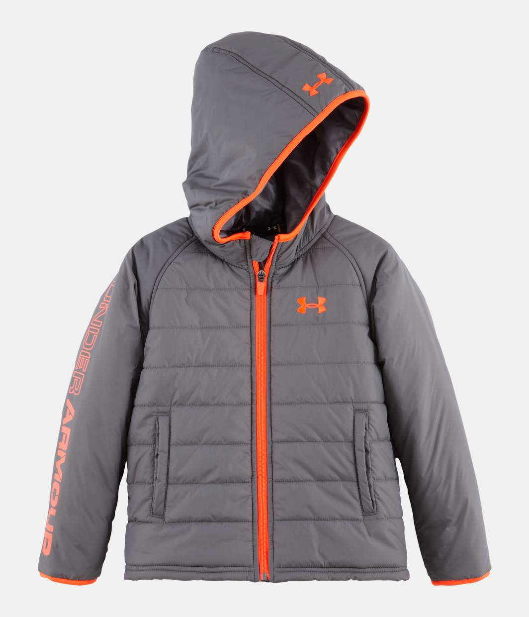 Boys Pre School Ua Hudson Quilted Jacket Under Armour Us