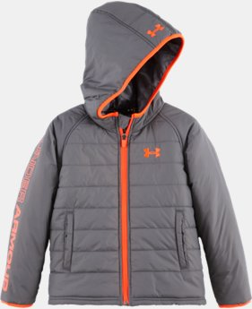 Boys' Pre-School UA Hudson Quilted Jacket