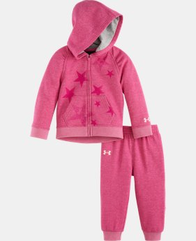 Girls' Infant UA Kaleidostar Hoodie Set