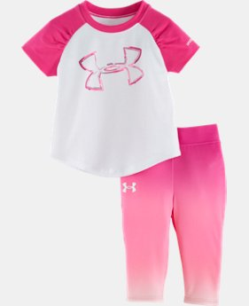 Girls' Infant UA Big Logo Fade Set