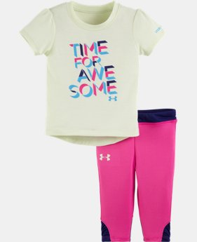 Girls' Infant UA Time For Awesome Set