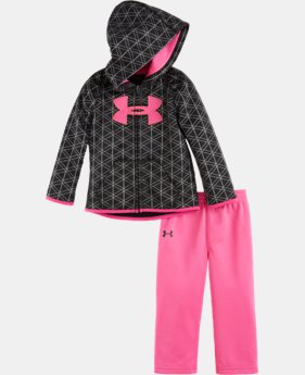 Girls' Newborn UA Flawless Hoodie Set