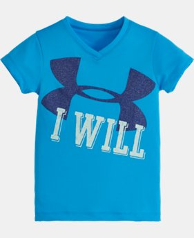 Girls' Infant UA I WILL Short Sleeve