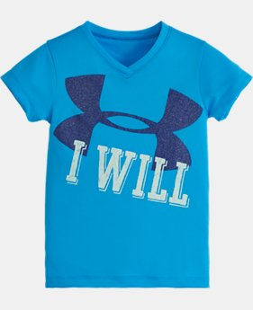 Girls' Toddler UA I WILL Short Sleeve