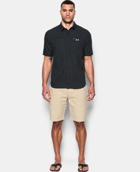 New Arrival Men's UA Tide Swing Short Sleeve Shirt LIMITED TIME: FREE SHIPPING 1 Color $59.99