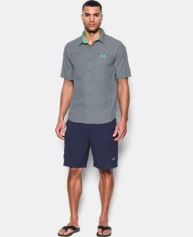 New Arrival Men's UA Tide Swing Short Sleeve Shirt LIMITED TIME: FREE SHIPPING  $59.99