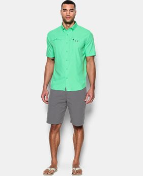 New Arrival Men's UA Tide Swing Short Sleeve Shirt   $59.99