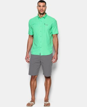 New Arrival Men's UA Tide Swing Short Sleeve Shirt  3 Colors $59.99