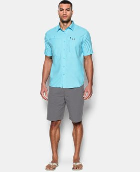 Men's UA Tide Swing Short Sleeve Shirt  1 Color $33.74 to $44.99