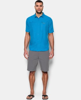 New Arrival Men's UA Tide Swing Short Sleeve Shirt LIMITED TIME: FREE SHIPPING 2 Colors $59.99