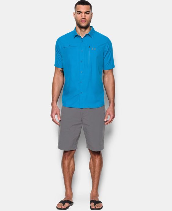 Men's UA Tide Swing Short Sleeve Shirt LIMITED TIME: FREE U.S. SHIPPING 2 Colors $33.74 to $44.99