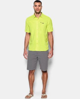 Men's UA Tide Swing Short Sleeve Shirt  1 Color $44.99