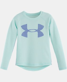 Girls' Toddler UA Double Knit Waffle Long Sleeve