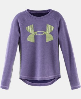 Girls' Pre-School UA Double Knit Waffle Long Sleeve