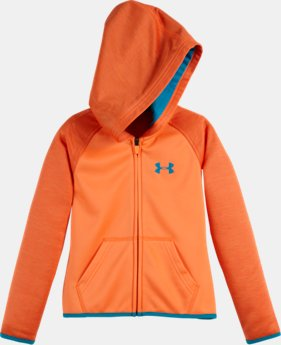 Girls' Infant UA Armour® Fleece Wordmark Twist Hoodie