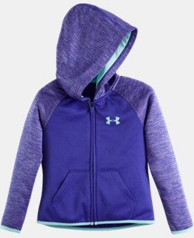 Girls' Toddler UA Armour® Fleece Wordmark Twist Hoodie