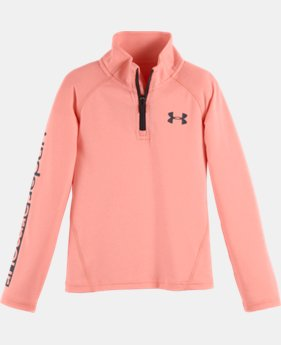Girls' Pre-School UA Jersey ¼ Zip