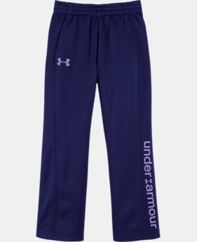 Girls' Pre-School UA Logo Fleece Pant
