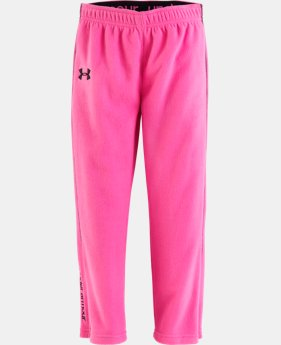 Girls' Pre-School UA Hundo Pant  1 Color $22.99
