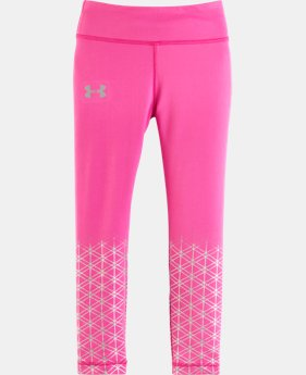 Girls' Pre-School UA Maze Shimmer Leggings