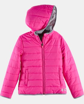 Girls' Pre-School UA Logo Puffer Jacket